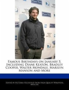 Famous Birthdays on January 5, Including Diane Keaton, Bradley Cooper, Walter Mondale, Marilyn Manson and More - Hockfield, Victoria