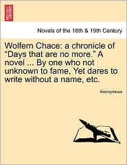 Wolfern Chace: A Chronicle of