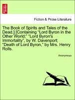 The Book of Spirits and Tales of the Dead.] [Containing