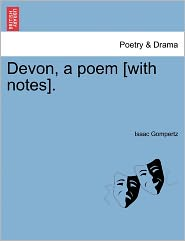 Devon, A Poem [With Notes]. - Isaac Gompertz