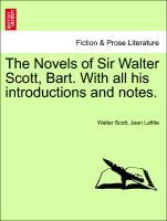 The Novels of Sir Walter Scott, Bart. With all his introductions and notes. Vol. XV. als Taschenbuch von Walter Scott, Jean Lafitte
