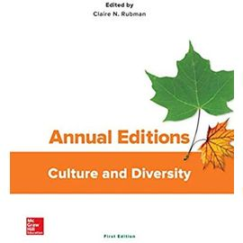 Annual Editions: Culture and Diversity - Claire Rubman