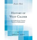 History of West Calder - Unknown Author