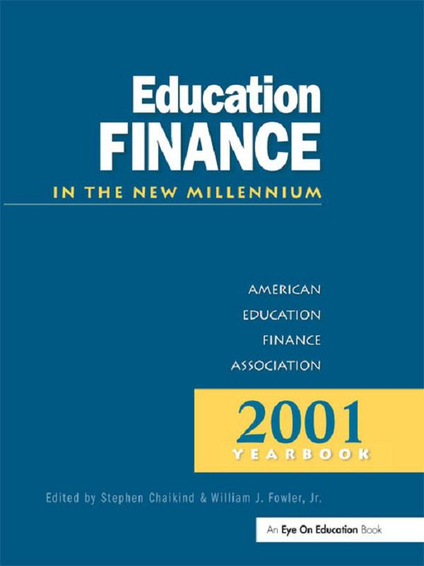 Education Finance in the New Millenium als eBook von - Taylor and Francis