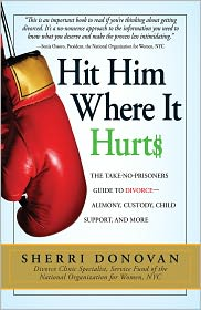 Hit Him Where It Hurts: The Take-No-Prisoners Guide to Divorce--Alimony, Custody, Child Support, and More (PagePerfect NOOK Book) - Sherri Donovan