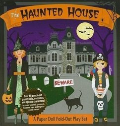 The Haunted House: Paper Dolls & Creepy Creatures [With Paper Dolls, Fold-Out Play Set] - Denight, Bump N.