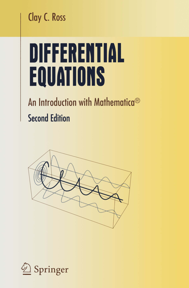 Differential Equations als Buch von Clay C. Ross - Springer