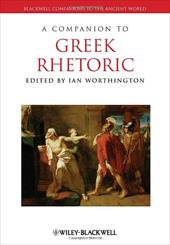 A Companion to Greek Rhetoric - Worthington, Ian