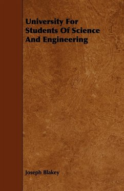 University for Students of Science and Engineering - Blakey, Joseph