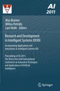 Research and Development in Intelligent Systems XXVIII: Incorporating Applications and Innovations in Intelligent Systems XIX Proceedings of AI-2011, ... and Applications of Artificial Intelligence