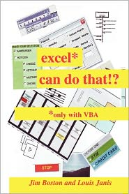excel* can do that!: *only with VBA
