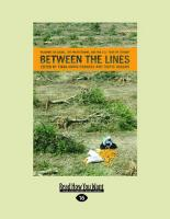 """Between the Lines: Readings on Israel, the Palestinians, and the U.S """"War on Terror"""" (Large Print 16pt)"""