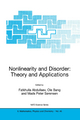 Nonlinearity and Disorder - F. Abdullaev; OLE Bang; M.P. Sorensen