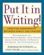 Put It in Writing!: Creating Agreements Between Family and Friends