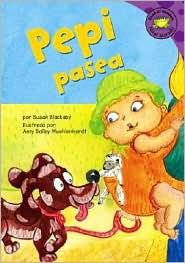 Pepi Pasea - Susan Blackaby, Amy Bailey Muehlenhardt (Illustrator), Clara Lozano (Translator)