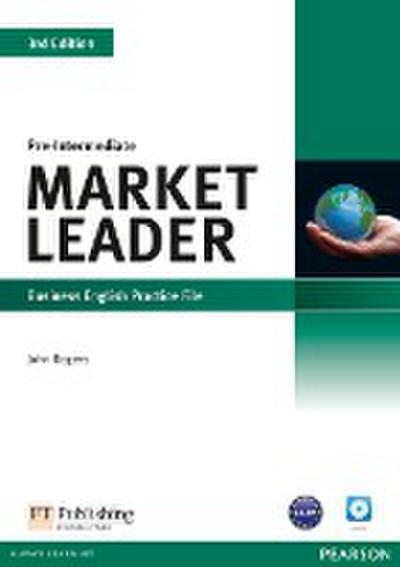 Market Leader. Pre-Intermediate Practice File (with Audio CD) - John Rogers