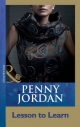 Lesson To Learn (Mills & Boon Modern) (Penny Jordan Collection) - Penny Jordan