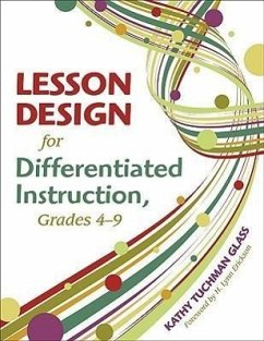 Lesson Design for Differentiated Instruction, Grades 4-9 - Glass, Kathy Tuchman