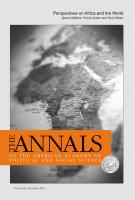 Perspectives on Africa and the World
