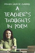 A Teacher's Thoughts in Poem