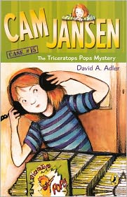 The Triceratops Pops Mystery (Cam Jansen Series #15) (Turtleback School & Library Binding Edition) - David A. Adler