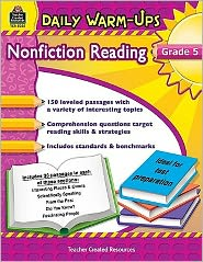 Daily Warm-Ups: Nonfiction Reading, Grade 5 - Ruth Foster