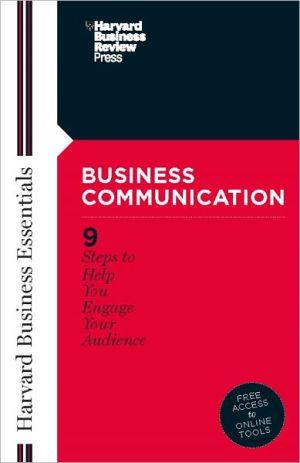 Business Communication - Harvard Business School Press (Compiler)