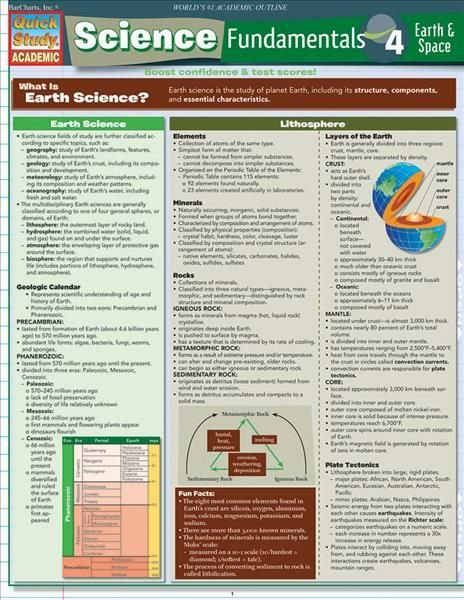Science Fundamentals 4 - BarCharts Inc