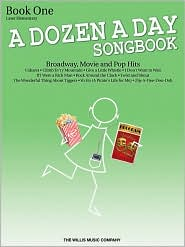 A Dozen a Day Songbook - Book 1: Later Elementary to Early Intermediate Level - Carolyn Miller