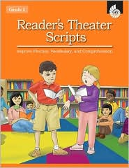 Reader's Theater Scripts: Improve Fluency, Vocabulary, and Comprehension Grade 1 (Book with Transparencies) - Christine Dugan