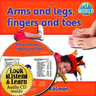 Arms and legs, fingers and toes - CD + PB Book - Package - Bobbie Kalman