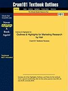 Outlines & Highlights for Marketing Research by Hair, ISBN: 2900073404706
