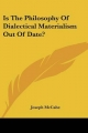 Is the Philosophy of Dialectical Materialism Out of Date? - Joseph McCabe