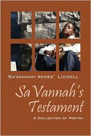 Savannah's Testament - Savannah Renee' Liddell