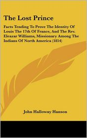The Lost Prince - John Halloway Hanson