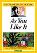 Shakespeare Made Easy: As You Like It - Barron's Educational Series