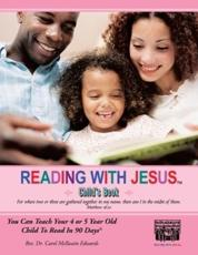 Reading with Jesus[ (Child's Book) - Dr Carol McIlwain Edwards