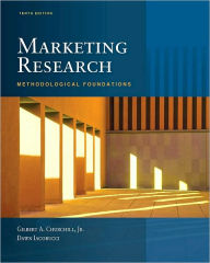 Marketing Research: Methodological Foundations (with Qualtrics Card) - Dawn Iacobucci