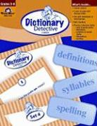 Dictionary Detective Cards