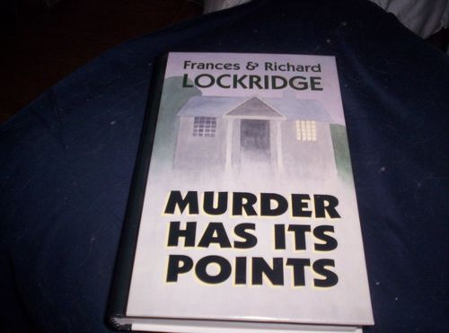 Murder Has Its Points: A Mr. and Mrs. North Mystery (Thorndike Press Large Print Basic Series)