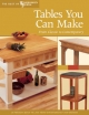 Tables You Can Make -