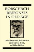 Rorschach Responses in Old Age