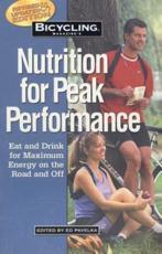 Bicycling Magazine's Nutrition for Peak Performance - Ed Pavelka, Bicycling Magazine