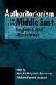 Authoritarianism in the Middle East - Marsha Pripstein Posusney; Michele Penner Angrist