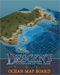 Descent: Sea of Blood Mounted Game Board