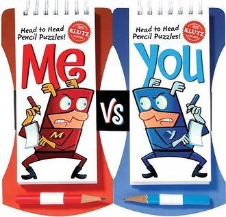 Me vs. You: Head to Head Pencil Puzzles!