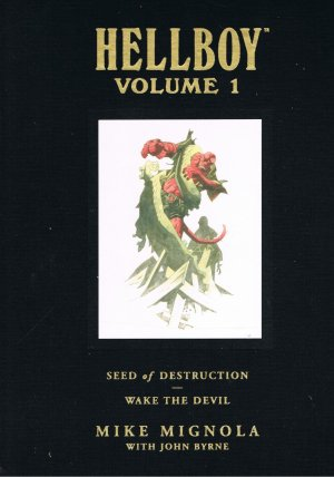 Hellboy Library Volume 1: Seed of Destruction and Wake the Devil (Hellboy (Dark Horse Library)) - Mignola, Mike
