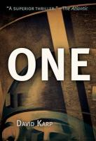 One (1953) (America Reads: Rediscovered Fiction and Nonfiction from Key Periods in American History)