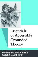 Essentials of Accessible Grounded Theory