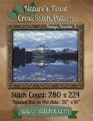 Nature's Finest Cross Stitch Pattern: Design Number 9 - Nature Cross Stitch, Created by Stitchx